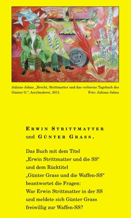 Buch Günter Grass & Erwin Strittmatter